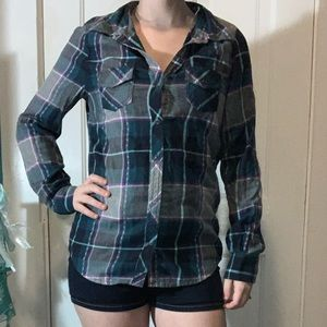 Plaid Button Down!